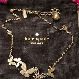 "Kate Spade ""Butterfly"" Necklace"